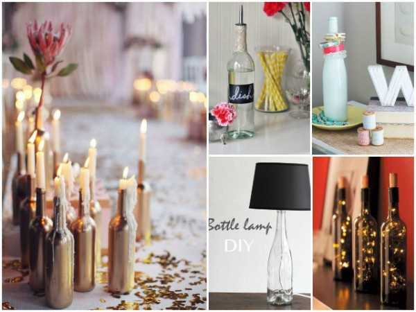 Craft Ideas With Wine Bottles