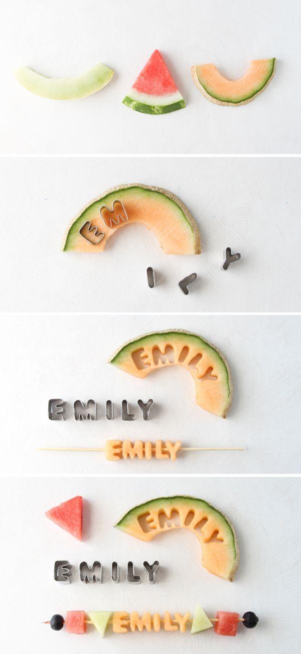 Creative Fruit Kabobs