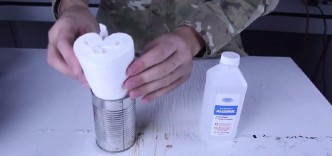He Puts A Roll Of Toilet Paper In A Can. Why You Will Do The Same For Your Next Camping Trip!