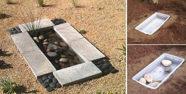 How To Build A Contemporary Garden Water Feature For Less Than $30