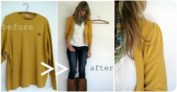 How To Re-purpose A Sweater