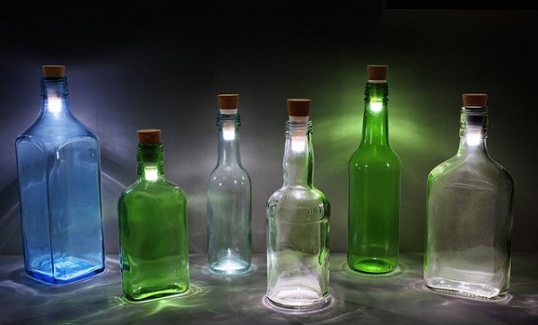 How To Recycle Empty Bottles Into Awesome Lamps