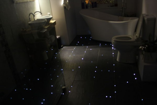 How To Turn Your Bathroom Floors Into Starry Night Sky 1