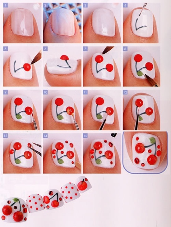 Nail Designs With Fruit Theme 2