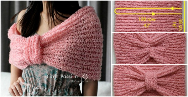 Scarf Cowl 2-in-1 Free Crochet Pattern