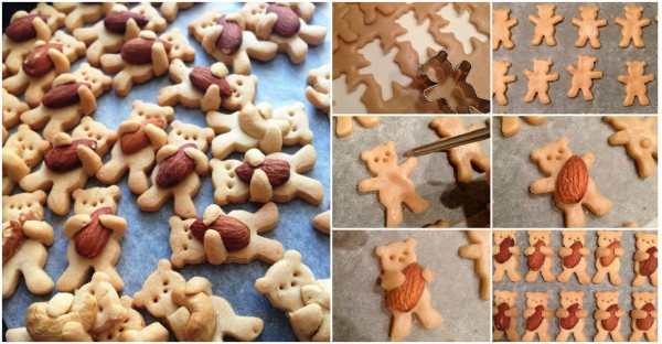 These Nut-Hugging Bear Cookies Are Too Cute To Eat 1