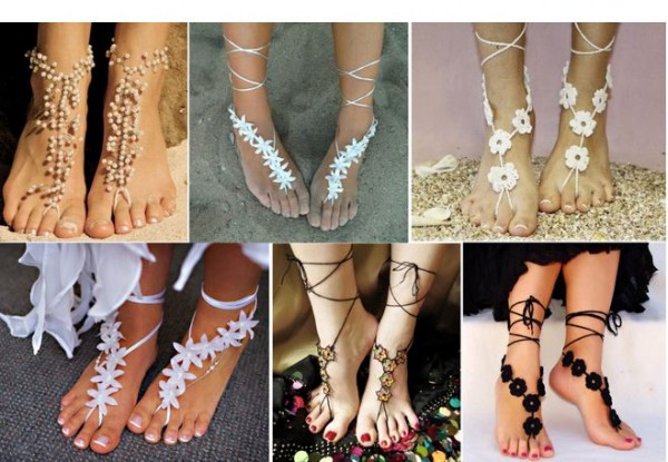 Barefoot Sandals DIY Tutorial