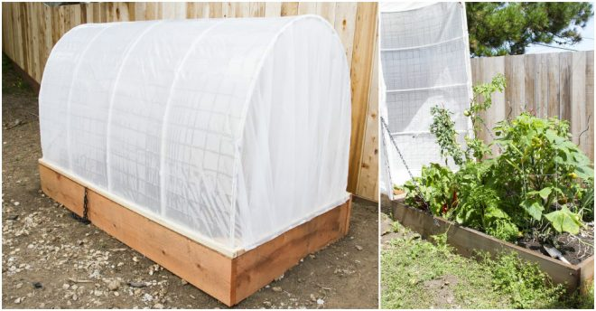 Diy Removable Book Cover : How to make diy removable greenhouse cover