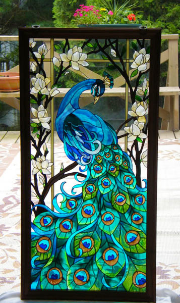 Faux Stained Glass Window Tutorial 1