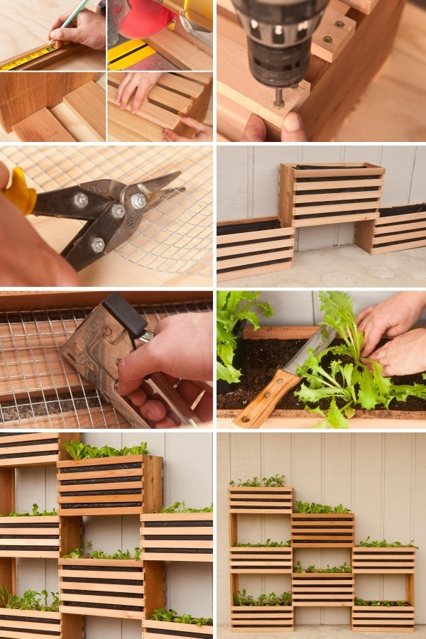 How To Build Nice Vertical Vegetable Garden 1