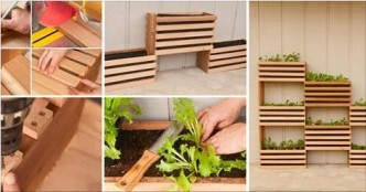 Step by step instructions on how to make everything part 98 How to build a vertical vegetable garden
