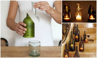 How To Cut A Wine Bottle Easy