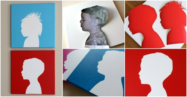 How To Make A Canvas Silhouette