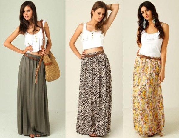 How To Make A Maxi Skirt How To Instructions