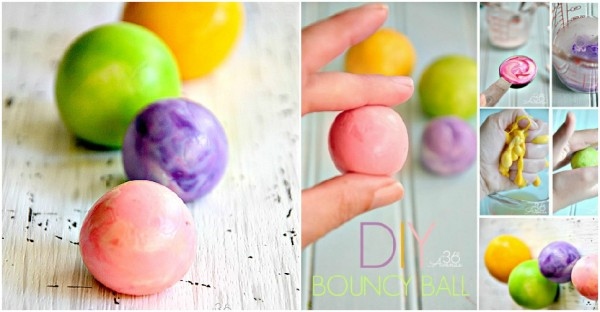 How To Make Bouncy Balls
