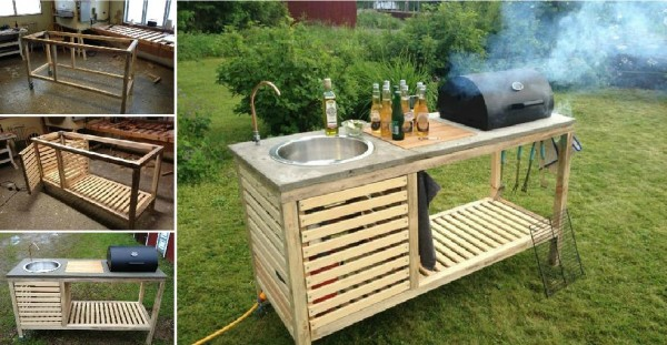 How To Make DIY Portable BBQ Grill
