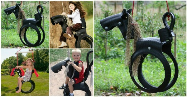 How To Turn Recycled Tires Into A Horse Tire Swing
