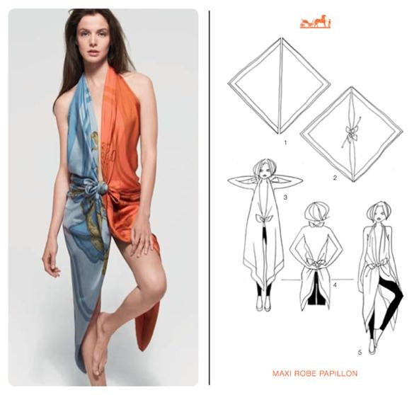 How To Wear A Scarf 10