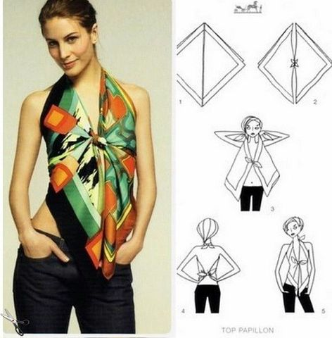 How To Wear A Scarf 12
