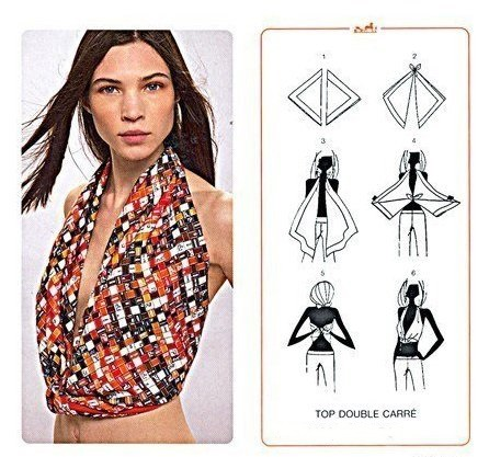 How To Wear A Scarf 15