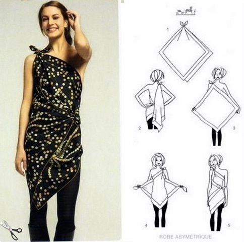How To Wear A Scarf 2
