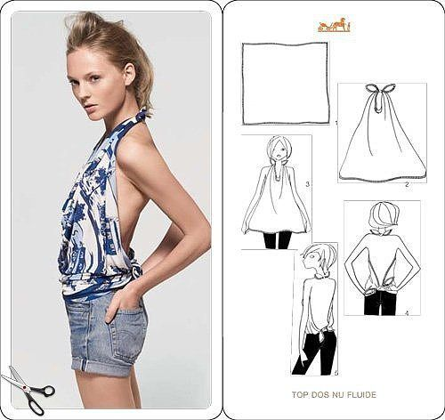 How To Wear A Scarf 4
