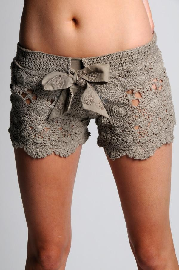 Lace Shorts Free Crochet Pattern 2