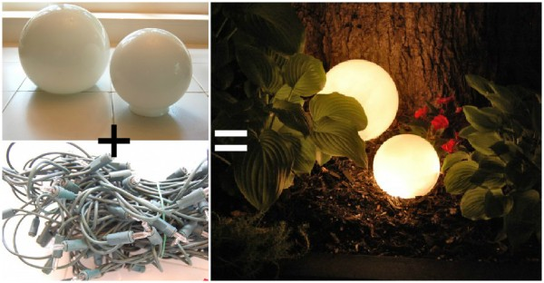 Outdoor Lighting - Simple Yet Cute DIY Solution