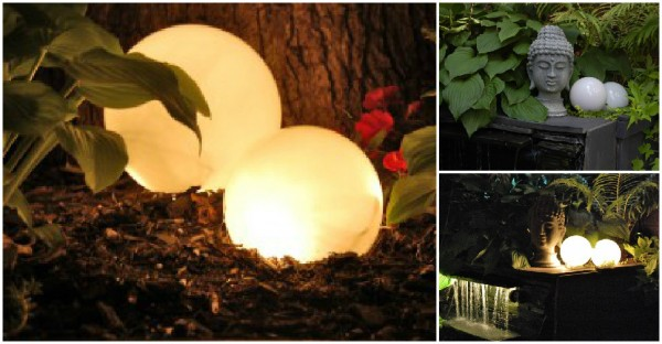 Outdoor Lighting Simple Yet Cute DIY Solution