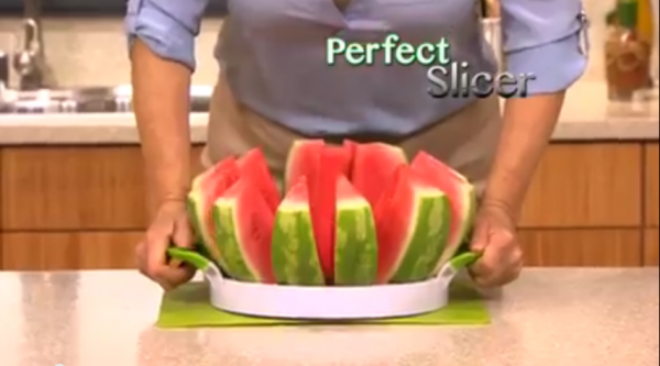 Perfect Slicer How To Cut A Watermelon In 2 Seconds