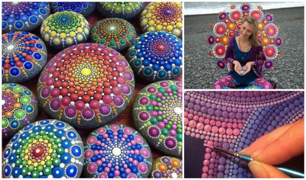 Rock Painting Art