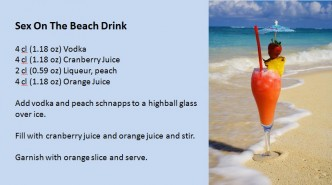 sex positions tutorial sex on the beach drink