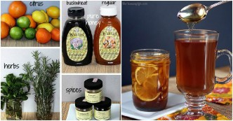 Sore Throat Home Remedies Honey Citrus Syrup