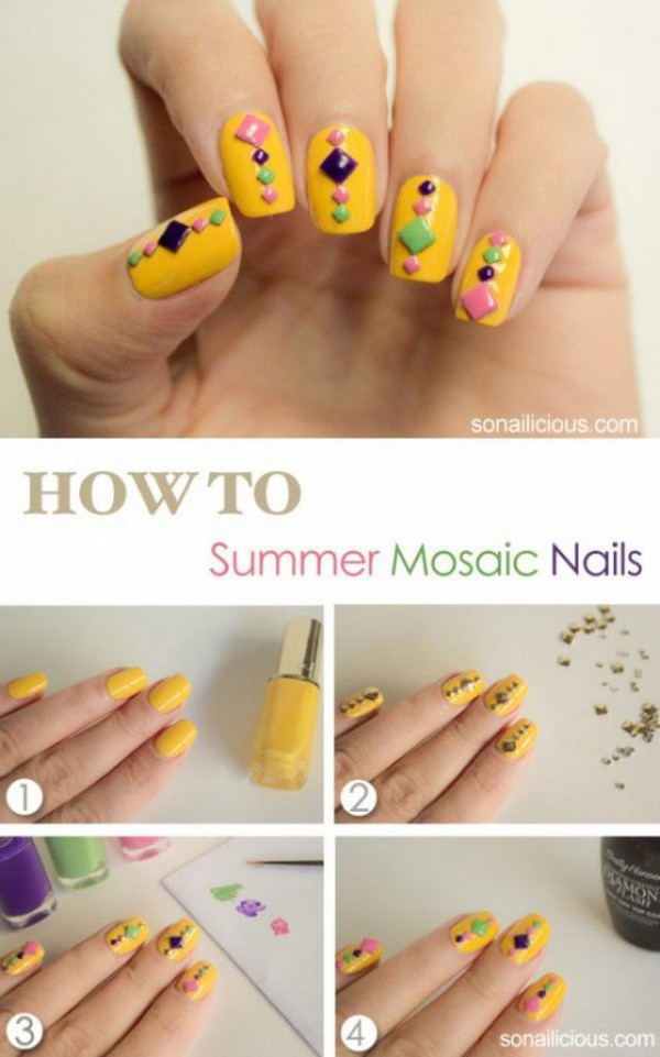 14 Summer Nail Art Tutorials 2