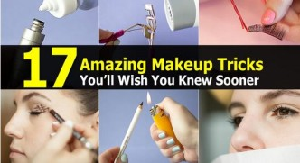 17 Amazing Makeup Tricks You'll Wish You Knew Sooner 1