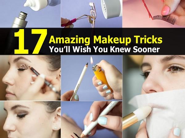 17 Amazing Makeup Tricks You'll Wish You Knew Sooner