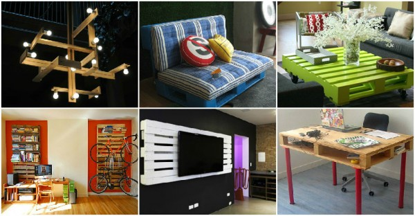 23 Creative Ways To Make Furniture From Pallets