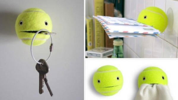 5 Clever Uses for Tennis Balls 1