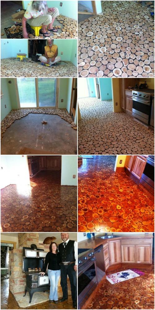 Cordwood Floor 1
