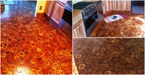 Cordwood Floor 2