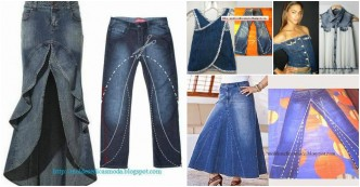 Creative Ways To Re-purpose Old Jeans 0