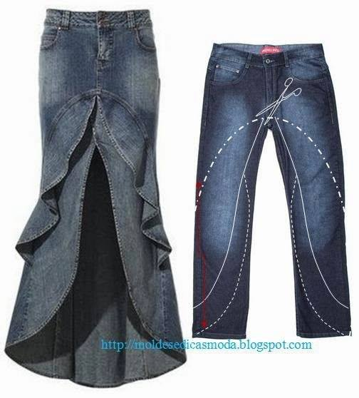 Creative Ways To Re-purpose Old Jeans 1