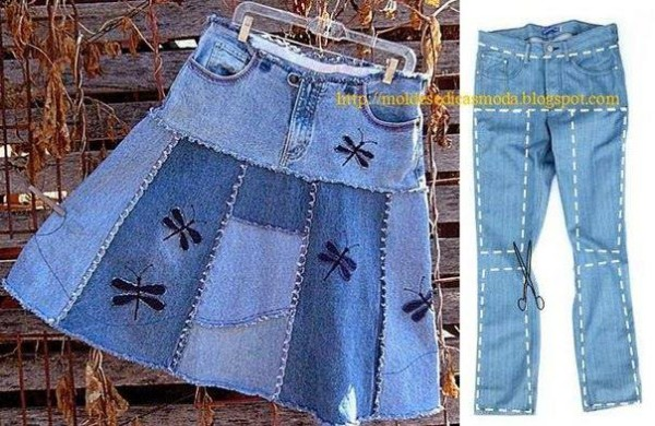 Creative Ways To Re-purpose Old Jeans 10