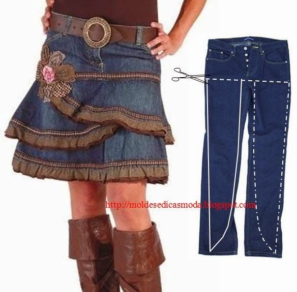 Creative Ways To Re-purpose Old Jeans 11