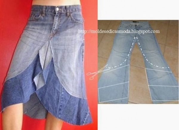 Creative Ways To Re-purpose Old Jeans 12