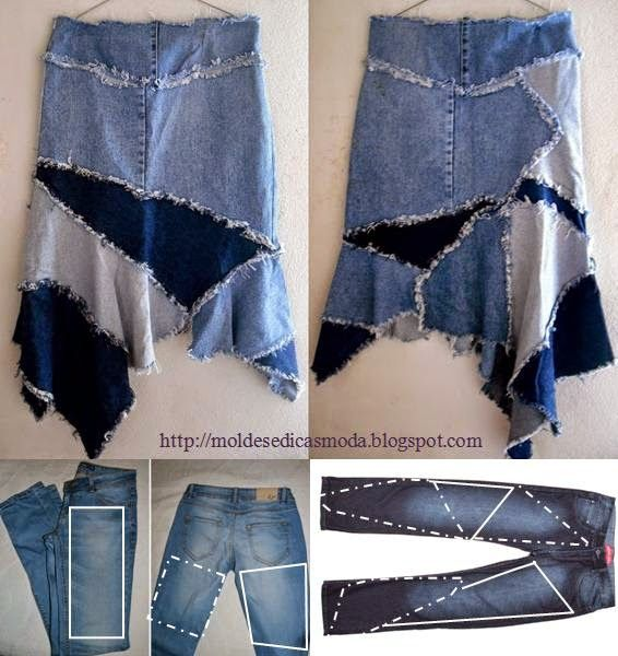 Creative Ways To Re-purpose Old Jeans 15