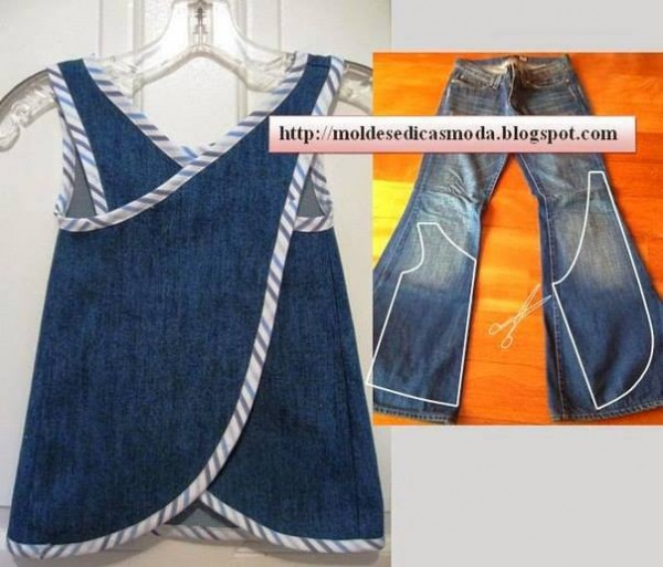Creative Ways To Re-purpose Old Jeans 5