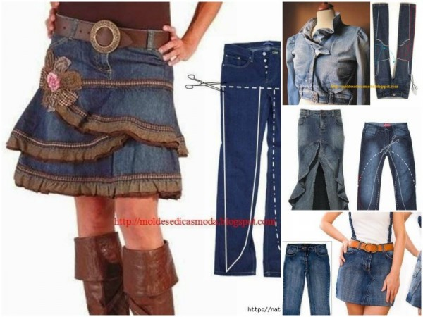 Creative Ways To Re-purpose Old Jeans