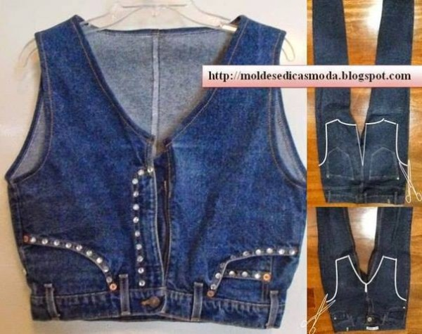 Creative Ways To Re-purpose Old Jeans 9