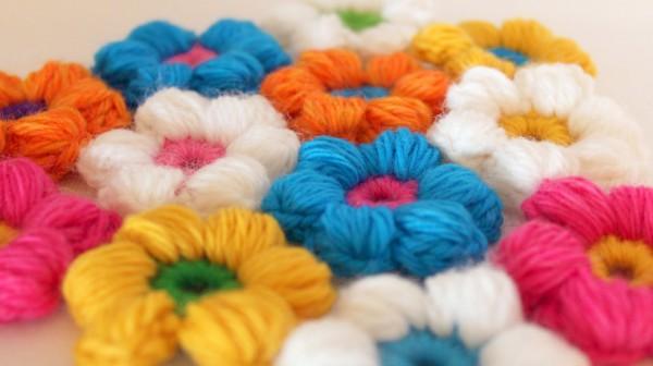 Crochet Flower Baby Blanket 2